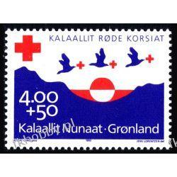Grenlandia 1993 Mi 236 ** Czerwony Krzyż Ptaki Ptaki