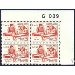 Grenlandia 1979 Mi 116 x4 ** Knud Rasmussen a Pozostałe
