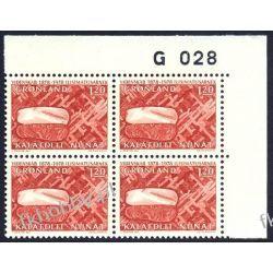 Grenlandia 1978 Mi 105 x4 ** Czesław Słania a Polonica