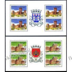 Portugalia 1986 Mi MH 1688-89 ** Architektura Herb Pozostałe
