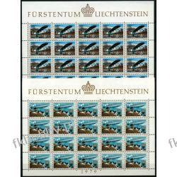 Liechtenstein 1979 Mi ark 723-24 ** Europa Cept Lotnictwo Lotnictwo