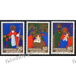 Liechtenstein 1981 Mi 788-90 ** Boże Narodzenie Polskie