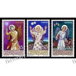 Liechtenstein 1986 Mi 910-12 ** Boże Narodzenie Anioł Pozostałe