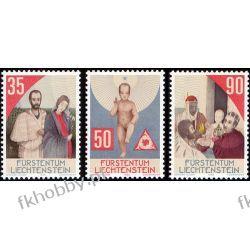 Liechtenstein 1988 Mi 954-56 ** Boże Narodzenie Marynistyka