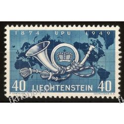Liechtenstein 1949 Mi 277 ** UPU Kartografia Dokumenty