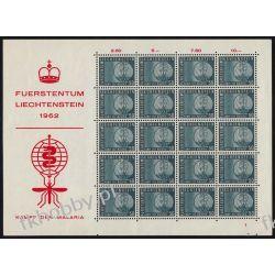 Liechtenstein 1962 Mi ark 419 ** Malaria Medycyna Komar Kosmos