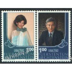 Liechtenstein 1982 Mi 797-98 ** Rodzina Książęca Pozostałe