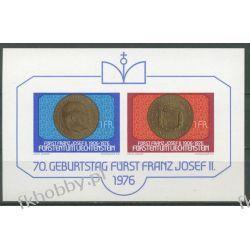 Liechtenstein 1976 Mi BL 10 ** Rodzina Książęca Moneta Pozostałe