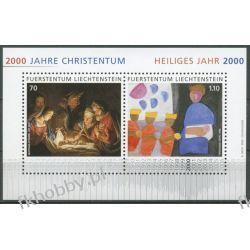 Liechtenstein 2000 Mi BL 17 ** Boże Narodzenie Pozostałe