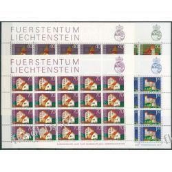 Liechtenstein 1975 Mi ark 630-33 ** Europa Cept Architektura Pozostałe