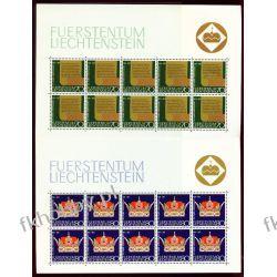 Liechtenstein 1971 Mi ark 546-47 ** Rodzina Książęca Marynistyka
