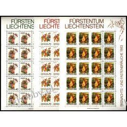 Liechtenstein 1983 Mi ark 818-20 ** Folklor Muzyka Taniec Pozostałe