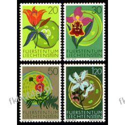 Liechtenstein 1970 Mi 521-24 ** Europa Cept Kwiaty Pozostałe