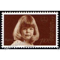 Liechtenstein 1977 Mi 687 ** Rodzina Książęca Owady