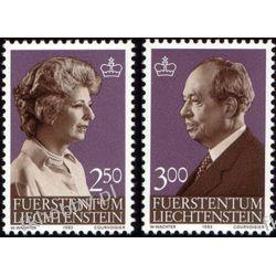 Liechtenstein 1983 Mi 828-29 ** Rodzina Książęca Sport