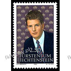 Liechtenstein 1992 Mi 1053 ** Rodzina Książęca Pozostałe