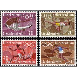 Liechtenstein 1972 Mi 556-59 ** Olimpiada San Marino