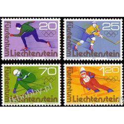 Liechtenstein 1975 Mi 635-38 ** Olimpiada Innsbruck Pozostałe
