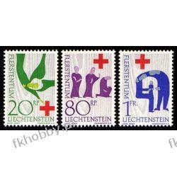 Liechtenstein 1963 Mi 428-30 ** Czerwony Krzyż Flora