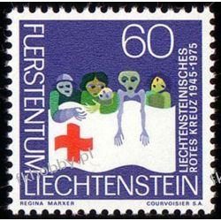 Liechtenstein 1975 Mi 629 ** Czerwony Krzyż Ssaki