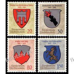 Liechtenstein 1964 Mi 440-43 ** Herby Pozostałe