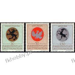 Liechtenstein 1969 Mi 514-16 ** Herby Religia Flora