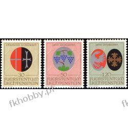 Liechtenstein 1971 Mi 548-50 ** Herby Religia Harcerstwo i Skauting