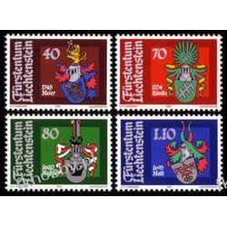 Liechtenstein 1981 Mi 766-69 ** Herby Sport