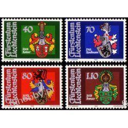 Liechtenstein 1982 Mi 793-96 ** Herby Sport