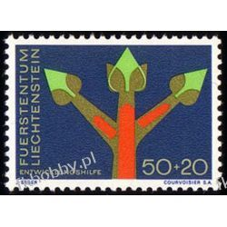 Liechtenstein 1967 Mi 485 ** Natura Sport