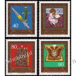 Liechtenstein 1977 Mi 673-76 ** Zabytki Pozostałe