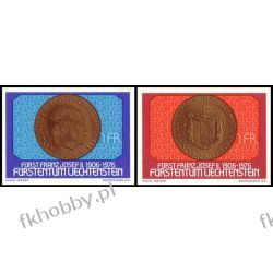 Liechtenstein 1976 Mi 649-50 ** Rodzina Książęca Moneta Pozostałe