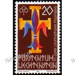 Liechtenstein 1981 Mi 773 ** Harcerstwo Harcerstwo i Skauting