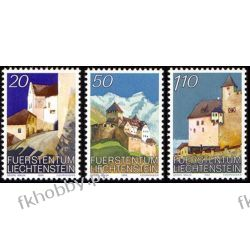Liechtenstein 1986 Mi 896-98 ** Architektura po 1945