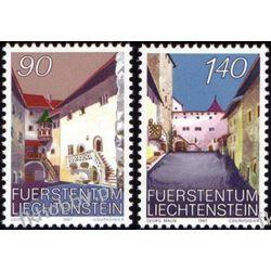 Liechtenstein 1987 Mi 919-20 ** Architektura po 1945