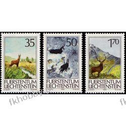 Liechtenstein 1986 Mi 907-09 ** Zwierzęta Ssaki