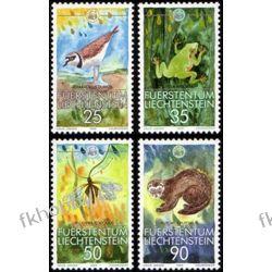 Liechtenstein 1989 Mi 967-70 ** Zwierzęta Ptak Żaba Ssaki