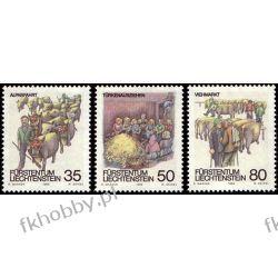 Liechtenstein 1989 Mi 971-73 ** Folklor Zwierzęta Ssaki