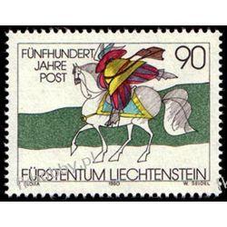 Liechtenstein 1990 Mi 1004 ** Europa Koń Ssaki