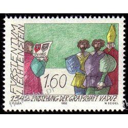 Liechtenstein 1992 Mi 1049 ** Historia Religia Ryby