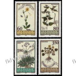 Liechtenstein 1995 Mi 1116-19 ** Natura Kwiaty Pozostałe