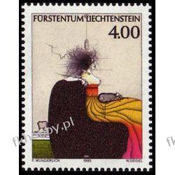 Liechtenstein 1995 Mi 1123 ** Malarstwo Owady