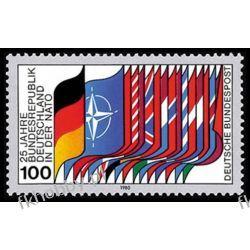 Niemcy NRF 1980 Mi 1034 ** Europa Cept NATO Flagi San Marino