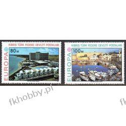 Cypr Tu 1977 Mi 41-42 ** Europa Cept Architektura Marynistyka