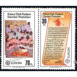 Cypr Tu 1982 Mi 114-15 ** Europa Cept Historia Liechtenstein