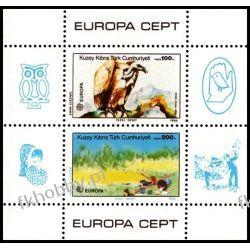 Cypr Tu 1986 Mi BL 5 ** Europa Cept Ptak Ptaki