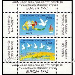 Cypr Tu 1995 Mi BL 14 ** Europa Cept Gołab Ptaki