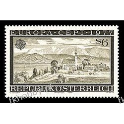 Austria 1977 Mi 1553 ** Europa Cept Architektura Marynistyka