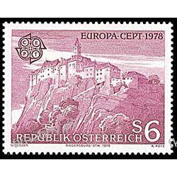 Austria 1978 Mi 1573 ** Europa Cept Architektura Pozostałe