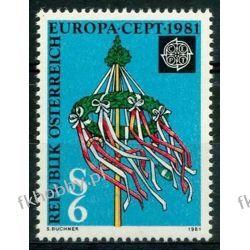 Austria 1981 Mi 1671 ** Europa Cept Folklor Filatelistyka